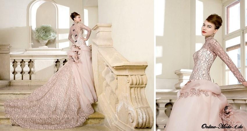 Brautkleider Kollection 2014 Anmutiges Brautkleid Mit Gold Stick